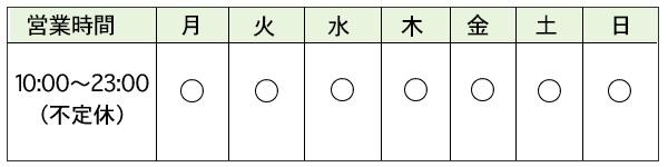 京都心理カウンセリングの営業時間